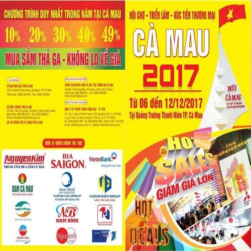 Nhang sạch An Viên tham gia Hội chợ triển lãm xúc tiến thương mại Cà Mau 2017